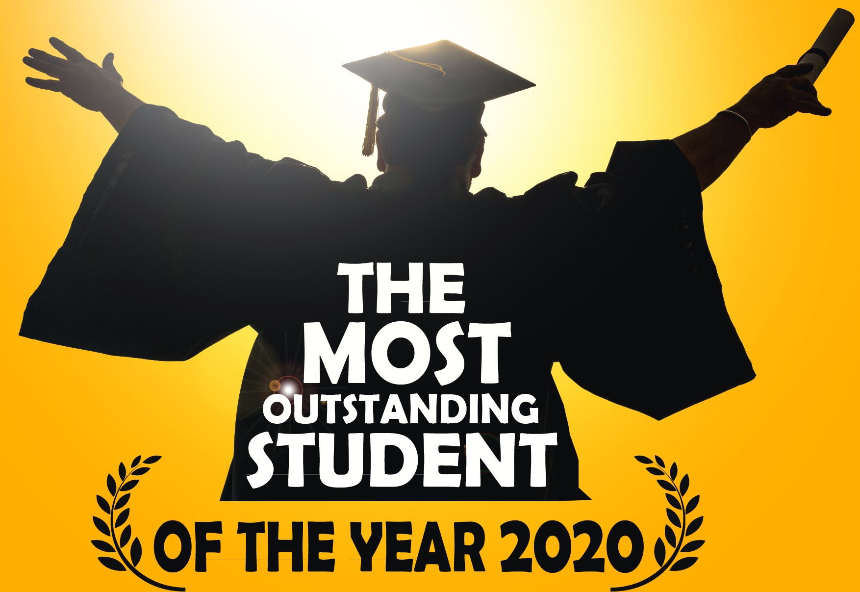The most outstanding student of the year 2020