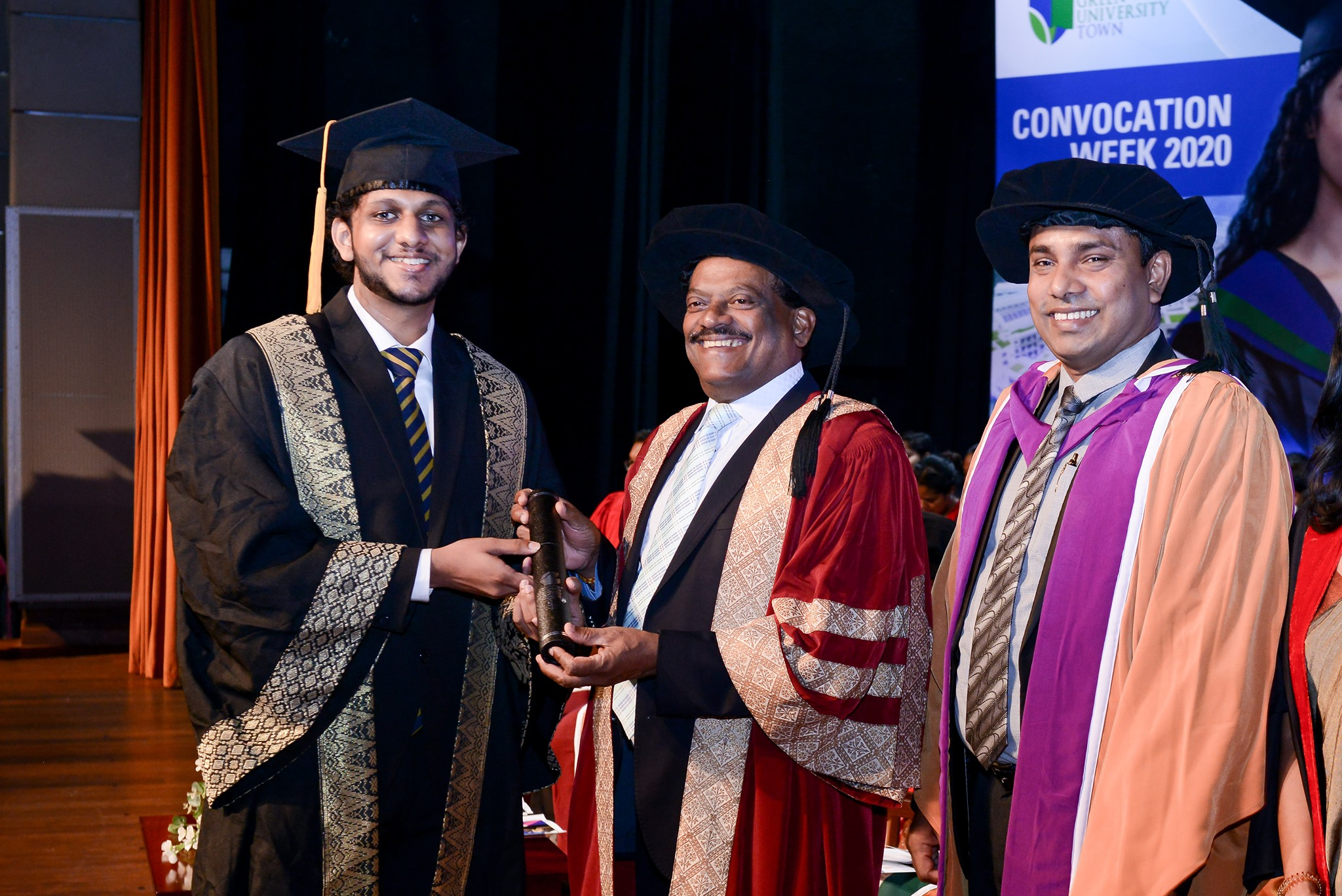 Day 4 of The NSBM Convocation Week 2020 started with conferment of creative minds…!!!